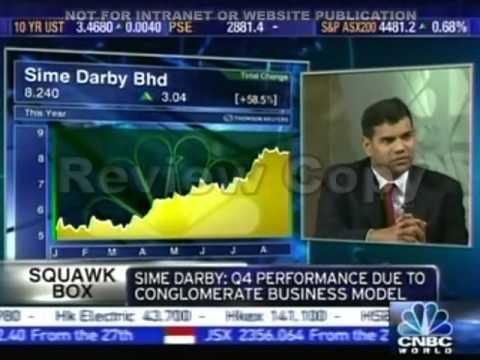 Nirgunan Tiruchelvam CNBC 27th Aug 2009 Palm Oil Prices review