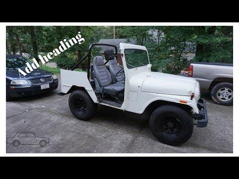 Rollbar Installation On My $125 Jeep!