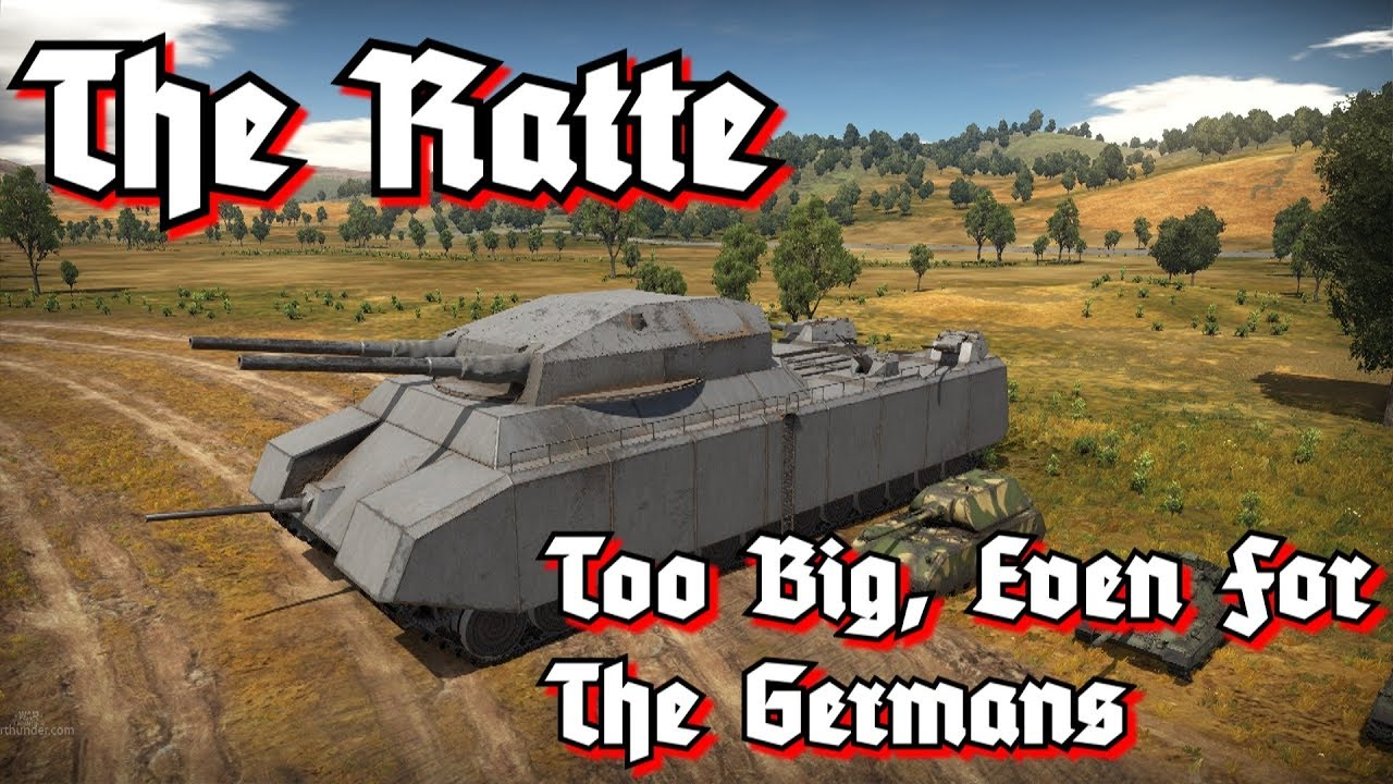 Download Tank Files: The Ratte - The Largest Tank Never Built