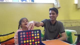 Playing Connect Four! (Board Game) - Very fun and great games!