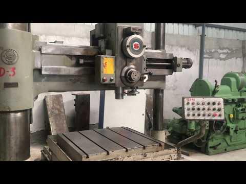 Double Column Drilling Machine - SASS