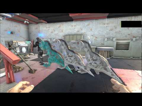 ARK  Survival Evolved Rex Conga