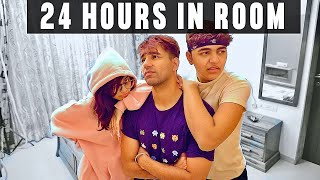 LIVING IN ROOM FOR 24 HOURS | Rimorav Vlogs