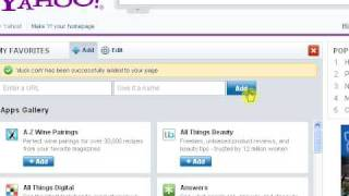 bookmarks on the go with yahoo!