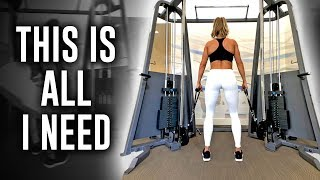 FULL LOWER BODY WORKOUT - CABLES ONLY!