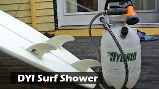 DIY Surf or Camping Shower