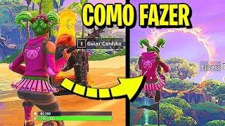 SE LANCE DE UM CANHÃO E ATRAVESSE ANÉIS DE FOGO - Fortnite Battle Royale
