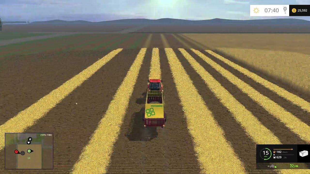 Farming simulator 15 pc texas map episode 2 youtube