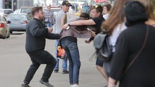 ОБМАН СЛЕПОГО В РОССИИ / социальный эксперимент / vjobivay вджобыватели