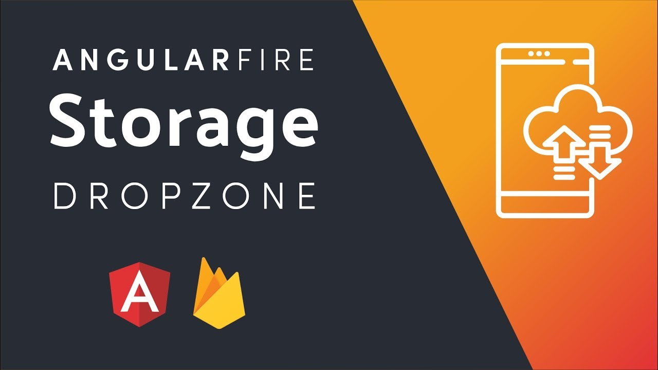 Firebase Storage With AngularFire - DropZone File Uploader