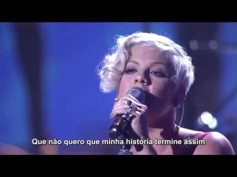 Pink - Sober (Live HD) Legendado em PT- BR