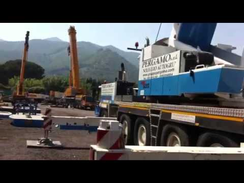 Movimentazione materiale in Umbria