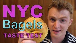 New York City Bagels Taste Test