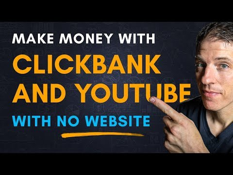 How to Promote Clickbank Products on YouTube - NO WEBSITE!