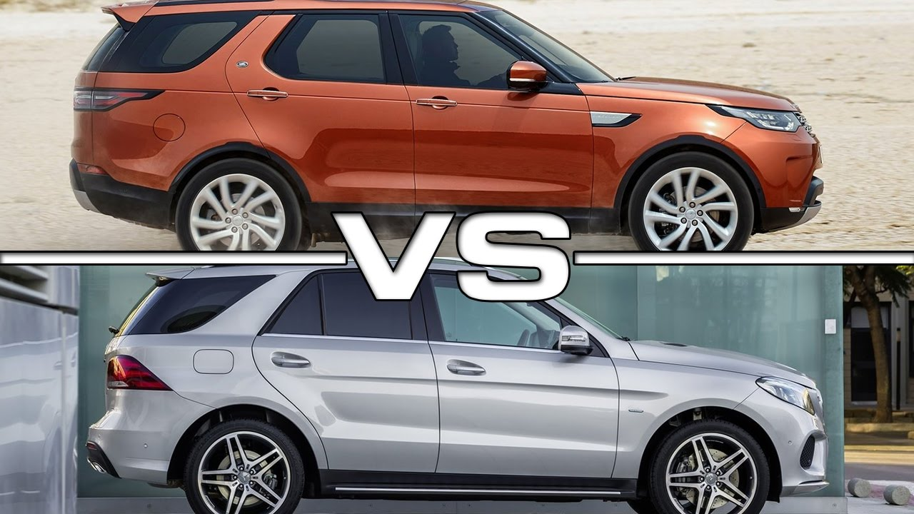 Range Rover Vs Land Rover >> Land Rover Discovery vs Mercedes GLE - YouTube