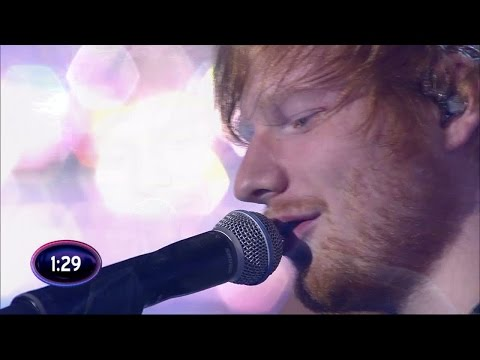Ed Sheeran - Thinking out loud (live on Swedish Idol)
