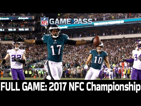 A Dominating Performance: Vikings vs. Eagles 2017 NFC Championship