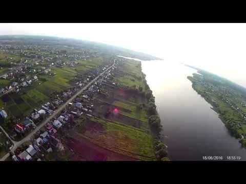 Полет на квадрокоптере над Казинкой Грязинский район Липецкая область