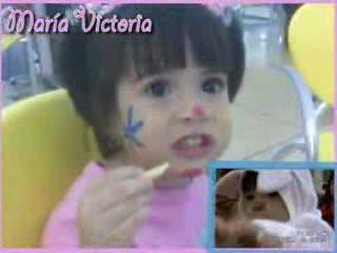4 añitos de María Victoria - Es mi niña - Catire Carpio