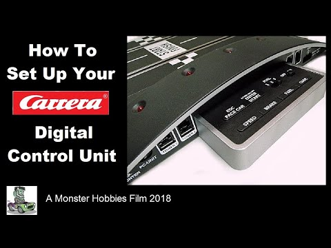 How to set up your Carrera Digital Control Unit