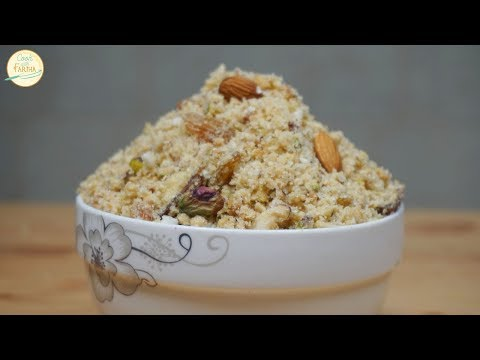 Panjiri Recipe - Healthy & Nutritional Recipe for New Moms By Cook With Fariha
