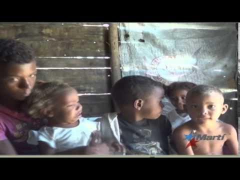 Pobreza extrema en un barrio de Bayamo, en el Oriente de Cuba