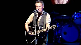 blood brothers acoustic bruce springsteen perth arena 22 01 2017