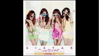 [MP3 DOWNLOAD] SiStar - Loving U (Chipmunks Version)