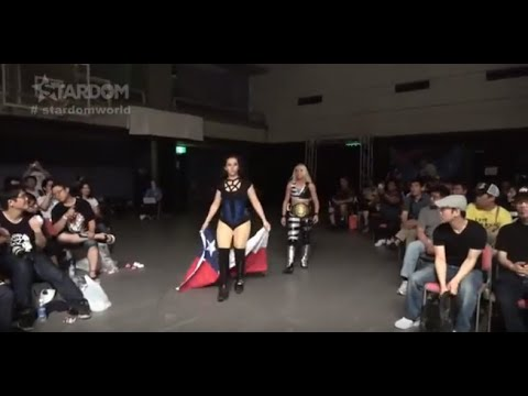 Stephanie Vaquer & Dust vs Hazuki & Natsu Sumire