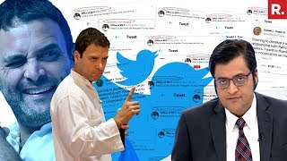 Rahul Gandhi BOT Attack | The Debate With Arnab Goswami