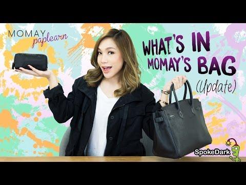 โมเมพาเพลิน : What's In Momay's Bag (update)