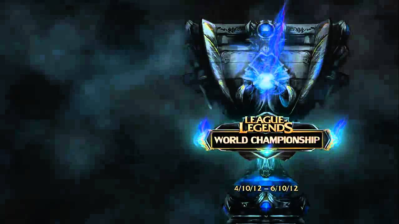 League of Legends World Championships 2012 Login Theme Animation HD Y