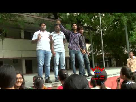 VTV -  ABVP - CLOSE COLLAGE AND UNIVERSITY , MOVEMENT AGAIN CORRUPTION, AHMEDABAD