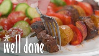 Steak Kabobs with Potatoes | Recipe | Well Done