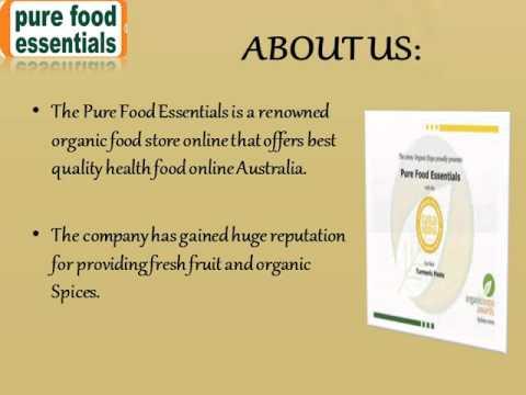 Organic Food Stores Online in Australia