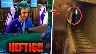 He played NIGHT Fortnite and that happened... (VIOLENT!!) 😱