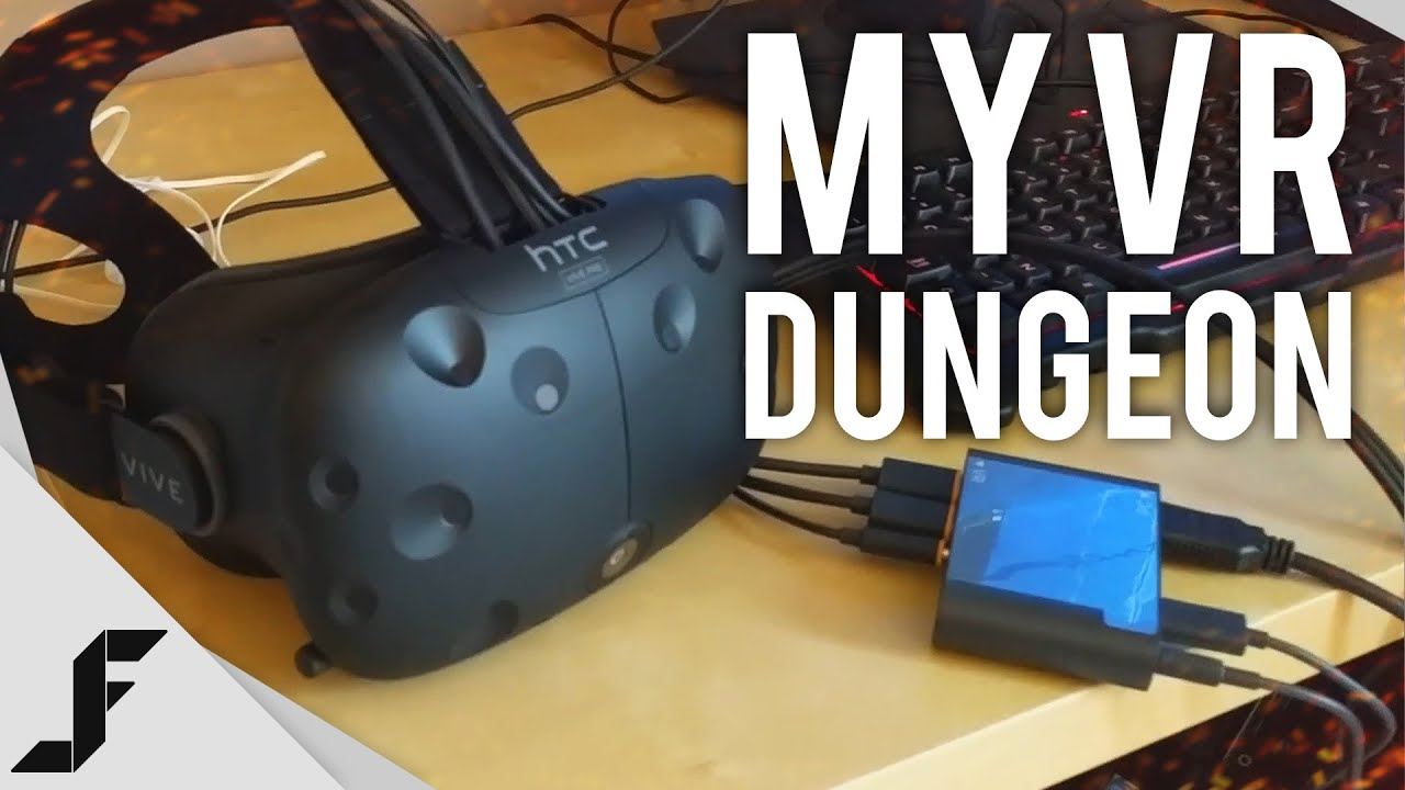My Vr Dungeon Htc Vive Setup Youtube