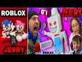 ESCAPE ROBLOX JERRY the Ice Scream Man! (FGTeeV in Cold Storage Ch 2) REACTION!!!