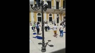 Ultimo giorno di scuola delle classi quinte dell'istituto comprensivo Pietrocola/Mazzini a.s. 19/20