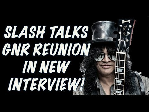 Guns N' Roses News  Slash Talks GNR Reunion & Brian Johnson Returns to Stage!