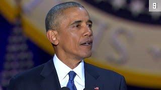 """Obamas letzte Rede als Präsident: """"Die Zukunft ist in guten Händen"""""""