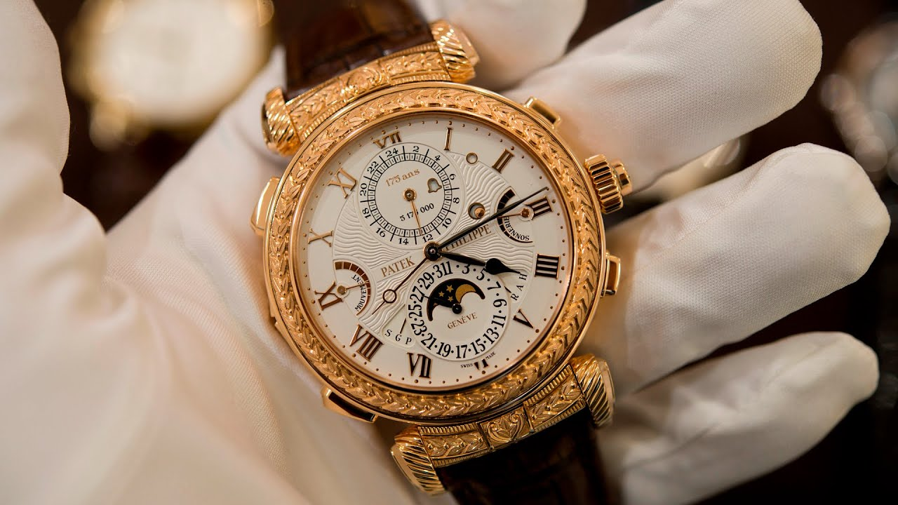 Up close with the patek philippe grandmaster chime youtube for Patek watches