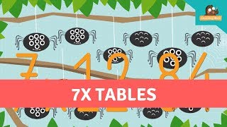 multiplication facts for kids 7x table seven times table times tables multiplication tables