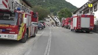 Brand in Merishausen