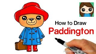 How to Draw Paddington Bear Easy