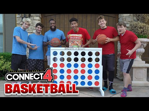 Giant 3v3 Basketball Connect Game