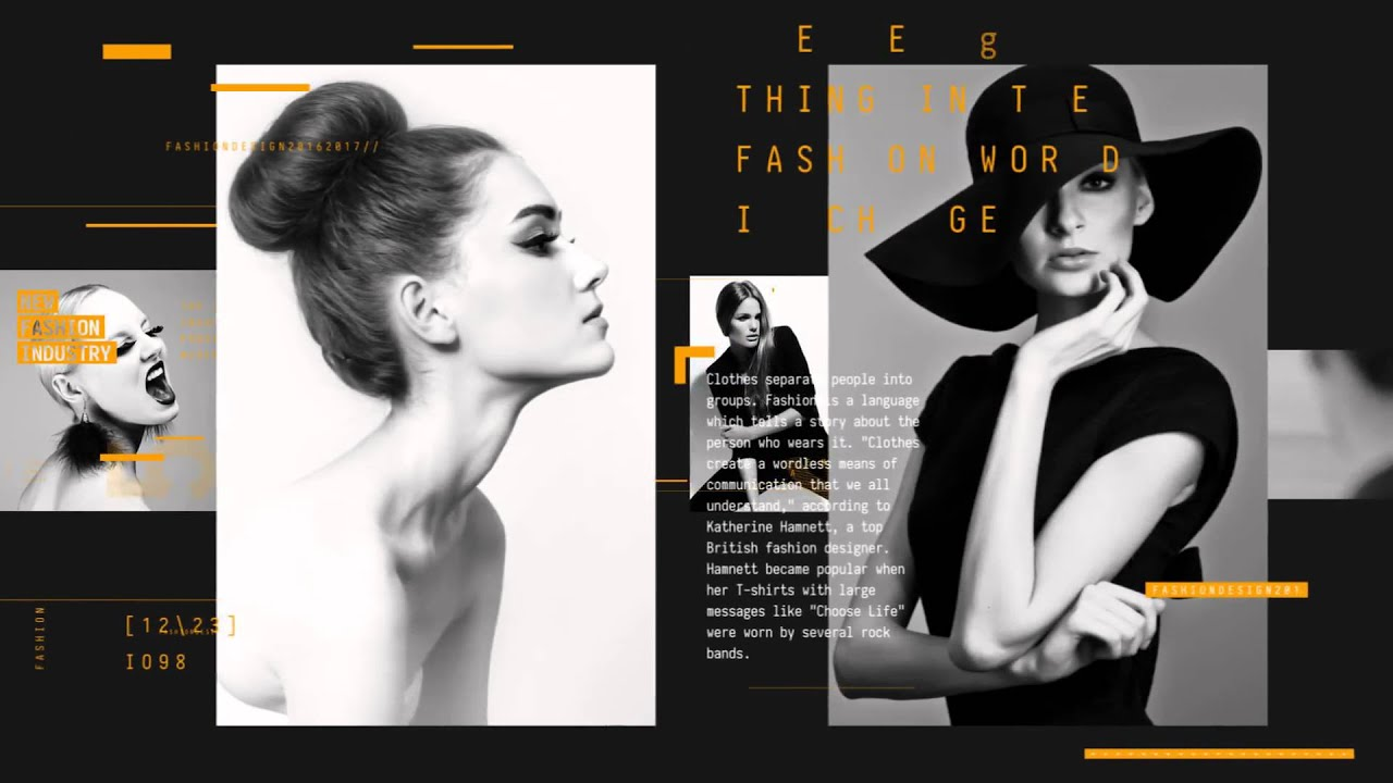 Fashion magazine promo after effects template youtube aftereffects videohive template maxwellsz