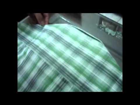 Hướng dẫn gấp áo sơ mi nhanh và đẹp - www.ShopQuanAoNam.com