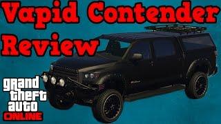 GTA online guides - Vapid Contender review