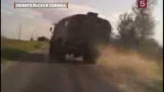 Idiot am Steuer / Russland Kamaz